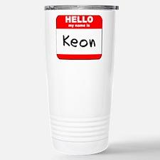 Hello my name is Keon Travel Mug