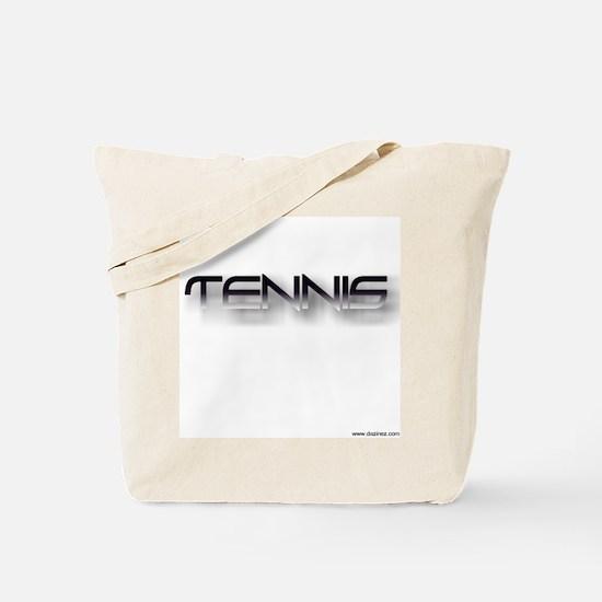 tennis black zh Tote Bag