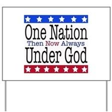 One Nation Under God Yard Sign