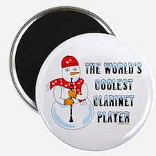 "Coolest Clarinet 2.25"" Magnet (100 pack)"
