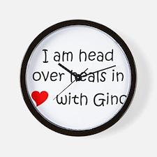 Funny Gino celtics Wall Clock