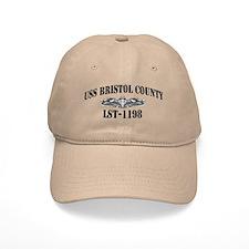 USS BRISTOL COUNTY Baseball Cap