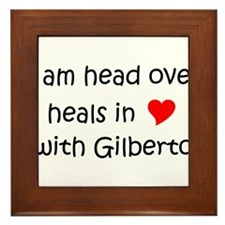 Cool Gilberto Framed Tile