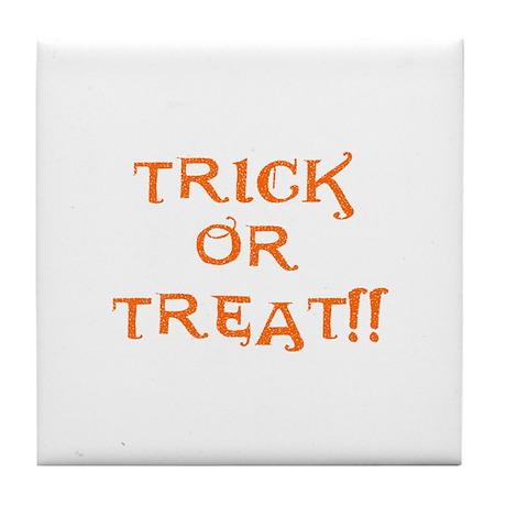 Trick or Treat Tile Coaster