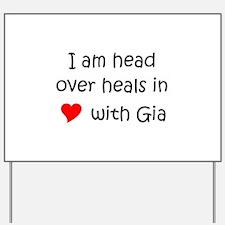 Gia Yard Sign