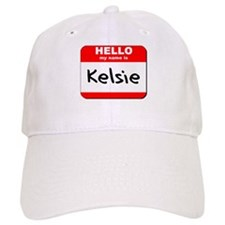Hello my name is Kelsie Baseball Cap