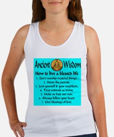 How to live a blessed life Women's Tank Top