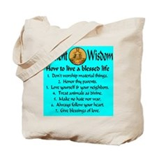 How to live a blessed life Tote Bag
