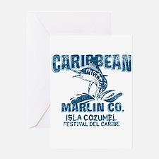 Caribbean Marlin Co. Greeting Card