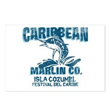 Caribbean Marlin Co. Postcards (Package of 8)