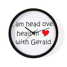 Gerald name Wall Clock