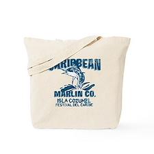 Caribbean Marlin Co. Tote Bag