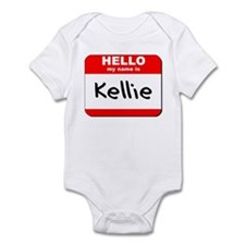 Hello my name is Kellie Infant Bodysuit