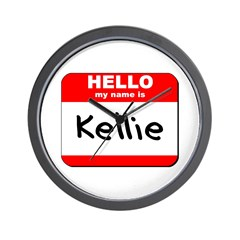 Hello my name is Kellie Wall Clock