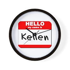 Hello my name is Kellen Wall Clock