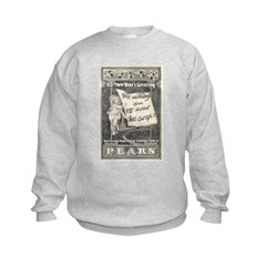 1902 New Years Greeting Sweatshirt