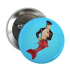 Pete the Merman Button