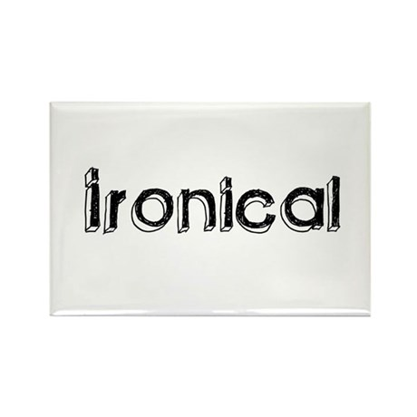 Ironical Rectangle Magnet (100 pack)