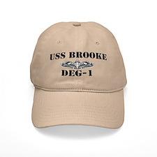 USS BROOKE Baseball Cap