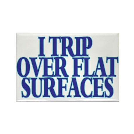 Trip Over Rectangle Magnet (10 pack)