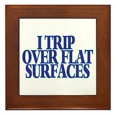Trip Over Framed Tile