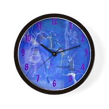 Cute Dance theme Wall Clock