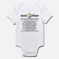 Twelve Wealth Generation Principles Infant Bodysui