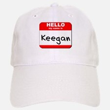 Hello my name is Keegan Baseball Baseball Cap