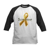 Childhood cancer survivor Baseball Jersey