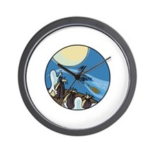 Ghosts are coming Wall Clock