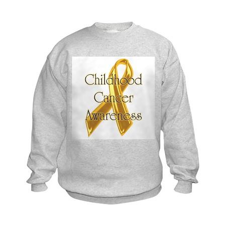 Childhood Cancer Kids Sweatshirt