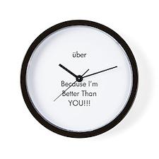 Uber Clock