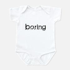Boring Infant Bodysuit