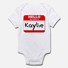 Hello my name is Kaylie Infant Bodysuit
