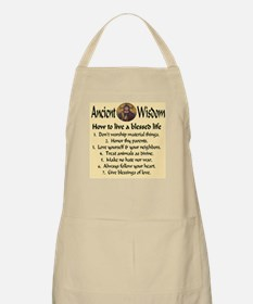 How to live a blessed life BBQ Apron