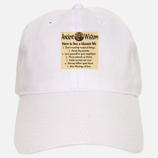 How to live a blessed life Baseball Baseball Cap
