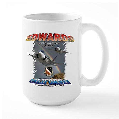 Edwards AFB Large Mug