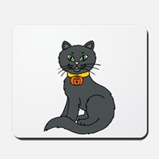Black Cat Mousepad