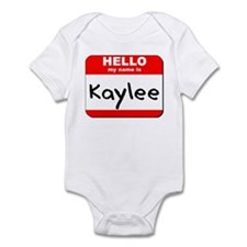 Hello my name is Kaylee Infant Bodysuit