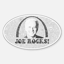 Joe Biden Rocks Oval Decal