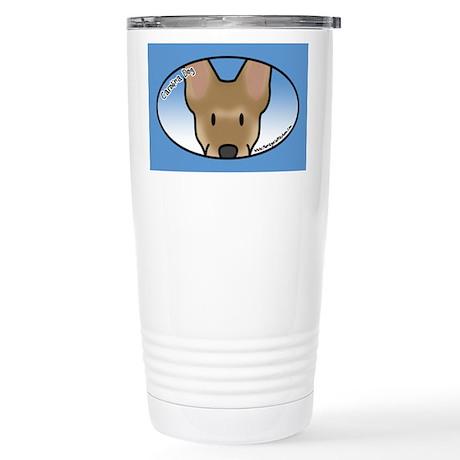 Anime Carolina Dog Stainless Steel Travel Mug