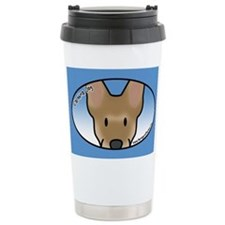 Anime Carolina Dog Travel Coffee Mug