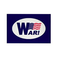 W-AR! Rectangle Magnet (10 pack)