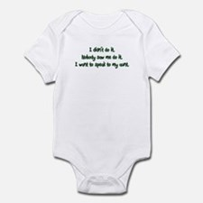 Want to Speak to My Aunt Infant Bodysuit