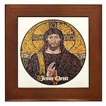 Jesus Christ Framed Tile