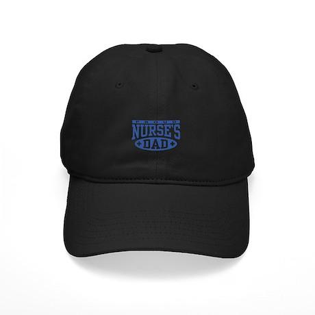 Proud Nurse's Dad Black Cap