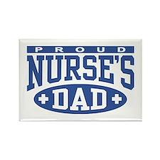Proud Nurse's Dad Rectangle Magnet