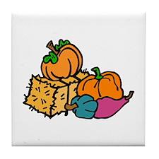 gourds Tile Coaster