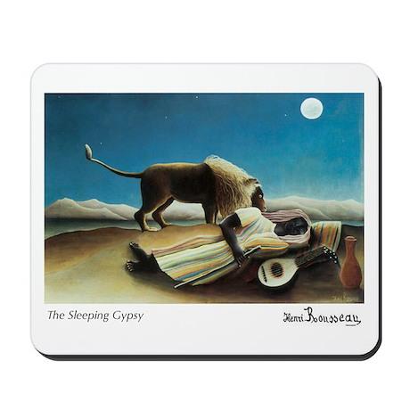 The Sleeping Gypsy Mousepad