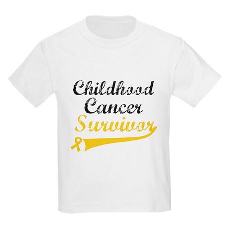 ChildhoodCancerSurvivor Kids Light T-Shirt